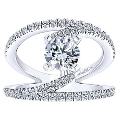 Freeform Nova Diamond Engagement Ring