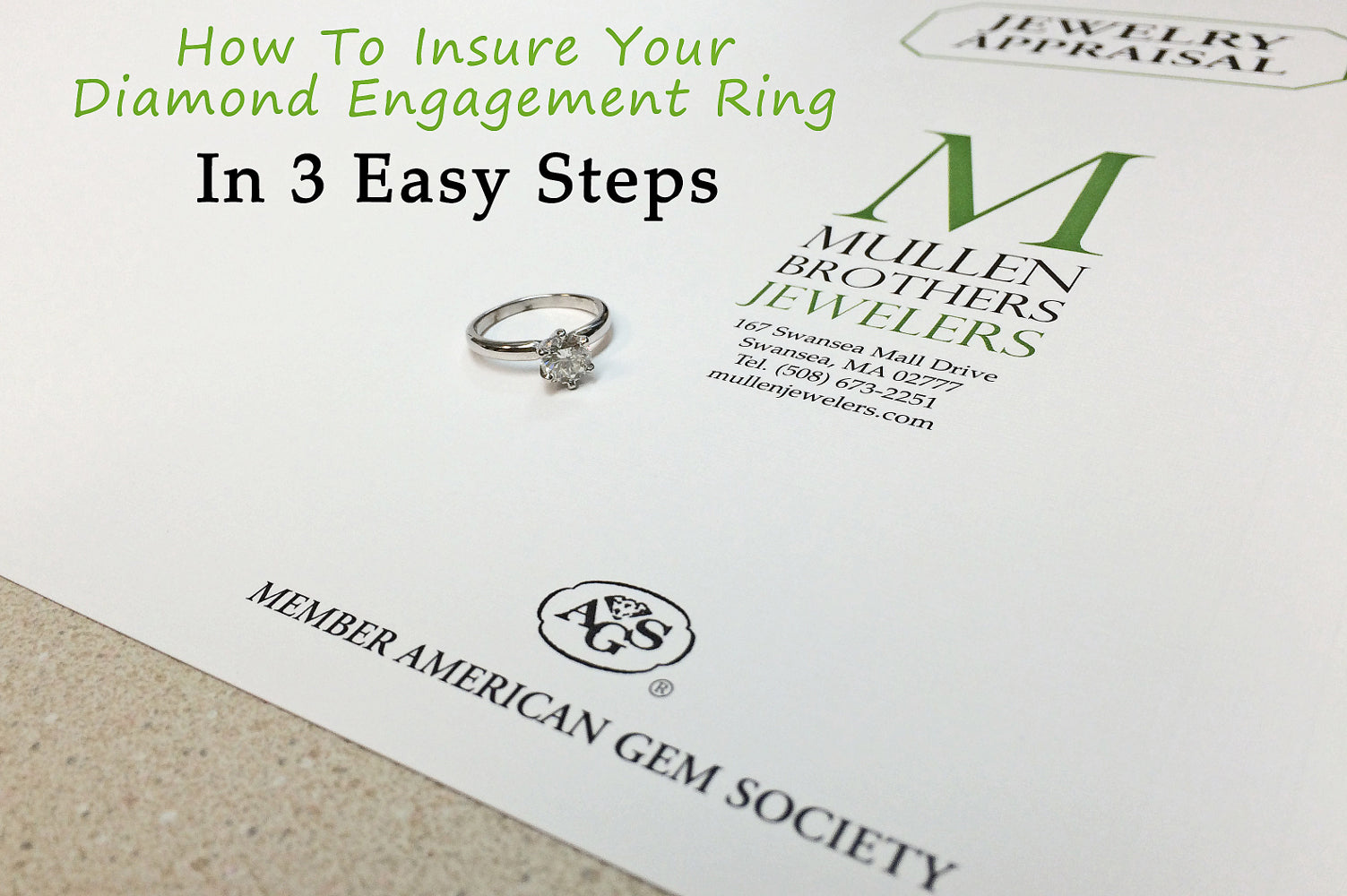 How To Insure Your Diamond Engagement Ring In 3 Easy Steps