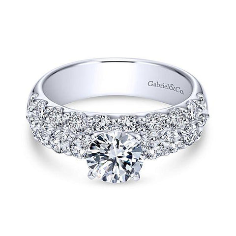 How to Include Your Pets in Your Proposal -Beautiful White Gold Diamond Engagement Ring