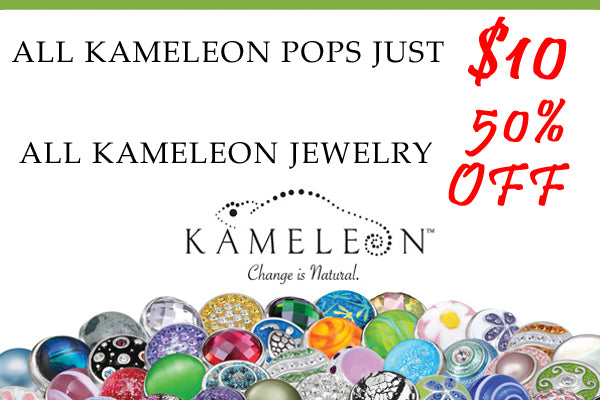 Kameleon Pop and Jewelry Sale