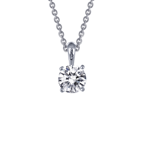 Lafonn Simulated Diamond Solitaire Necklace
