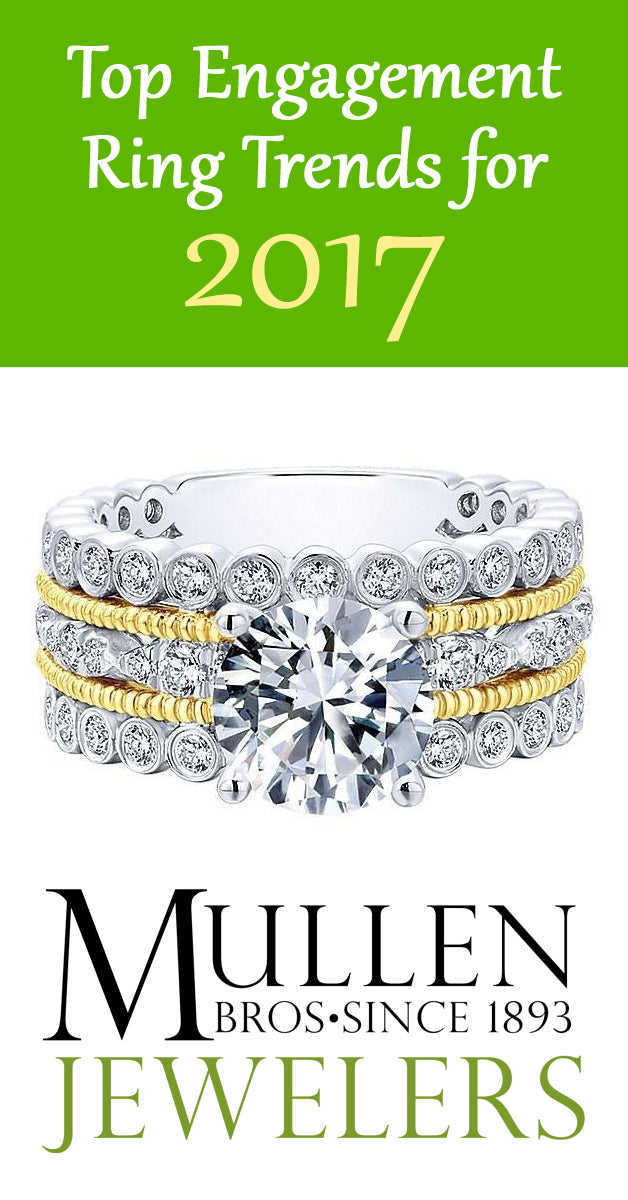 Top Engagement Ring Trends 2017
