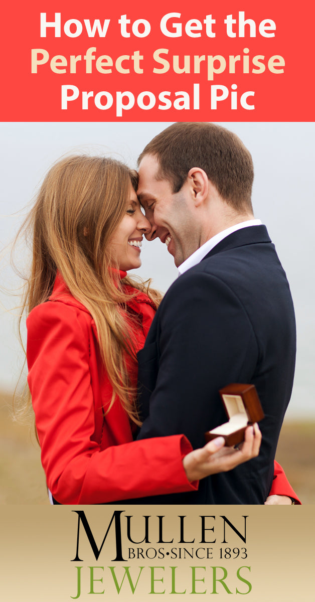 How to Get the Perfect Surprise Proposal Picture