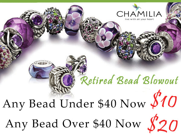 Chamilia Retired Bead Sale