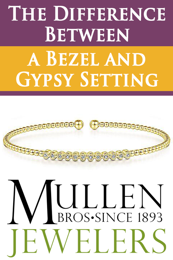 The Difference Between a Bezel and Gypsy Setting