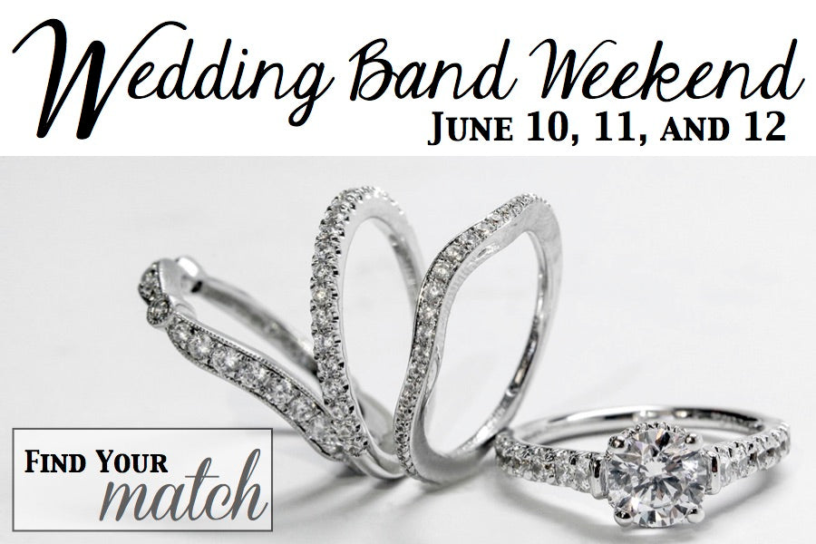 Our Annual Wedding Band Weekend is June 10, 11 and 12
