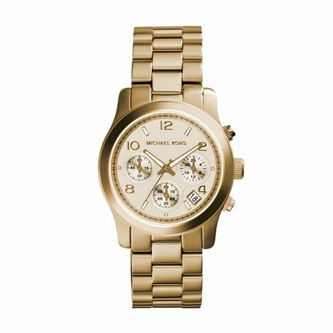 Valentine's Day Gift Ideas - Michael Kors Chronograph Gold Watch