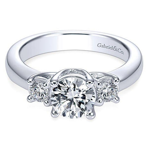 Smart Ways to Get a Bigger Engagement Ring - Engagement Ring with Side Stones