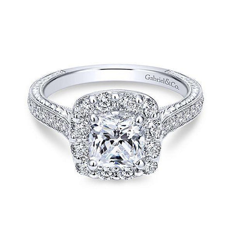 Smart Ways to get a Bigger Diamond - Halo Setting
