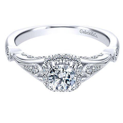 2018 Diamond Engagement Ring Trends Vintage