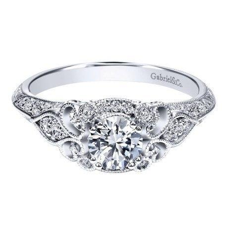 Smart Ways to Get a Bigger Engagement Ring - Vintage or Vintage Style Setting