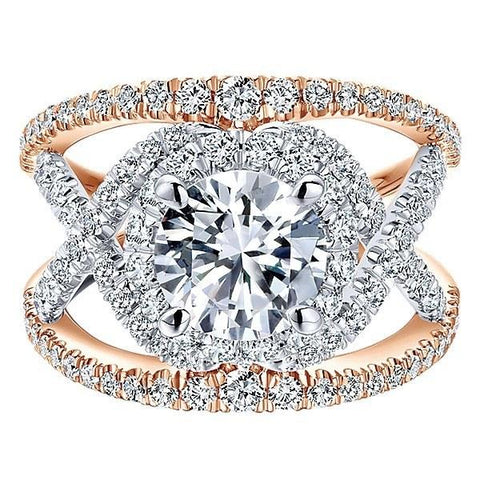 How to Include Your Pet in Your Proposal - Beautiful Rose Gold Diamond Engagement Ring