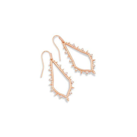 Kendra Scott Rose Gold Drop Earrings