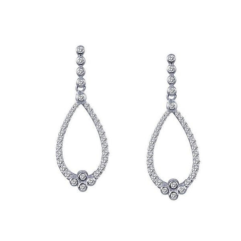Lafonn Silver Drop Earrings