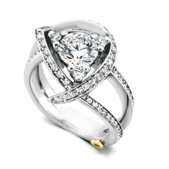 Diamond Engagement Rings that Look Like They Cost a Million Dollars But Don't!