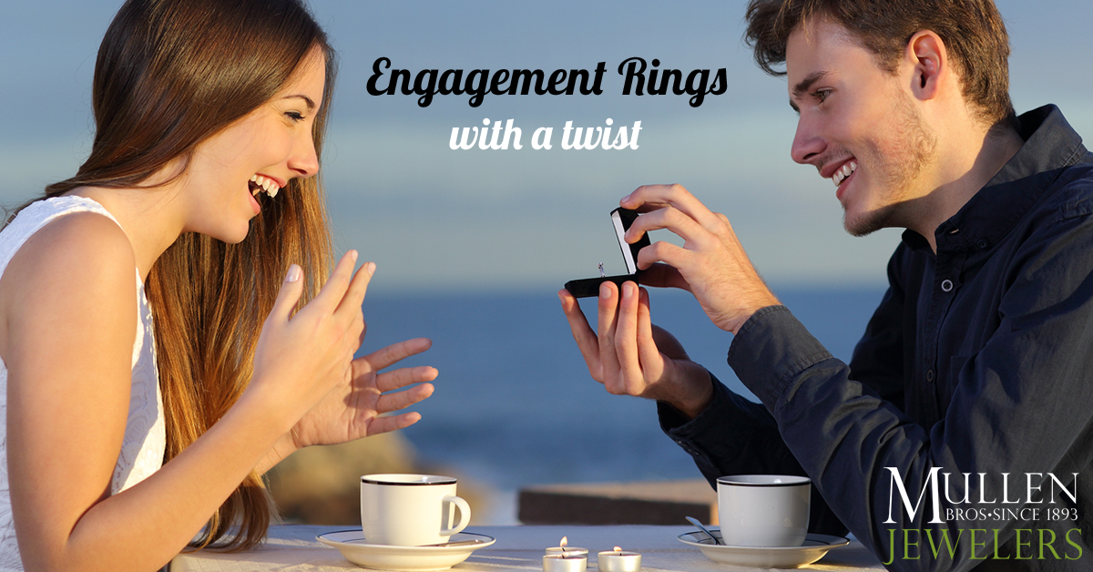 Engagement Rings with a Twist