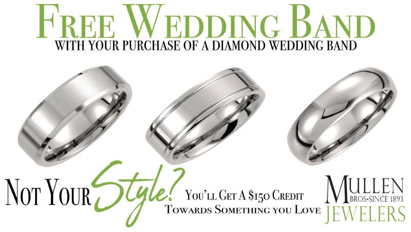 FREE Wedding Ring with Purchase