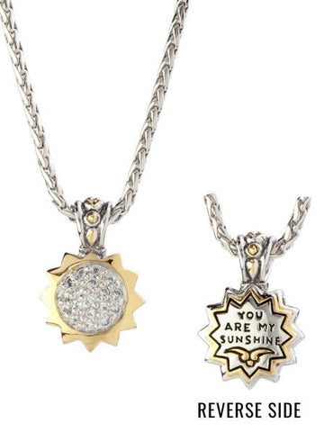 John Medeiros Necklace You are my Sunshine