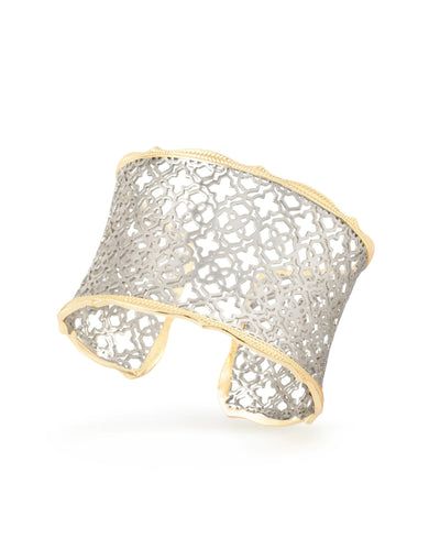 BRACELETS - Kendra Scott Candice Gold And Silver Filigree Cuff Bracelet