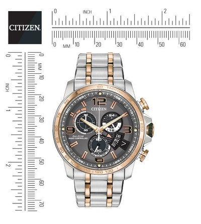 Citizen Eco-Drive Men's Chrono Time A-T Watch