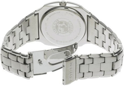 Citizen Eco-Drive Men's Grey Accented Watch