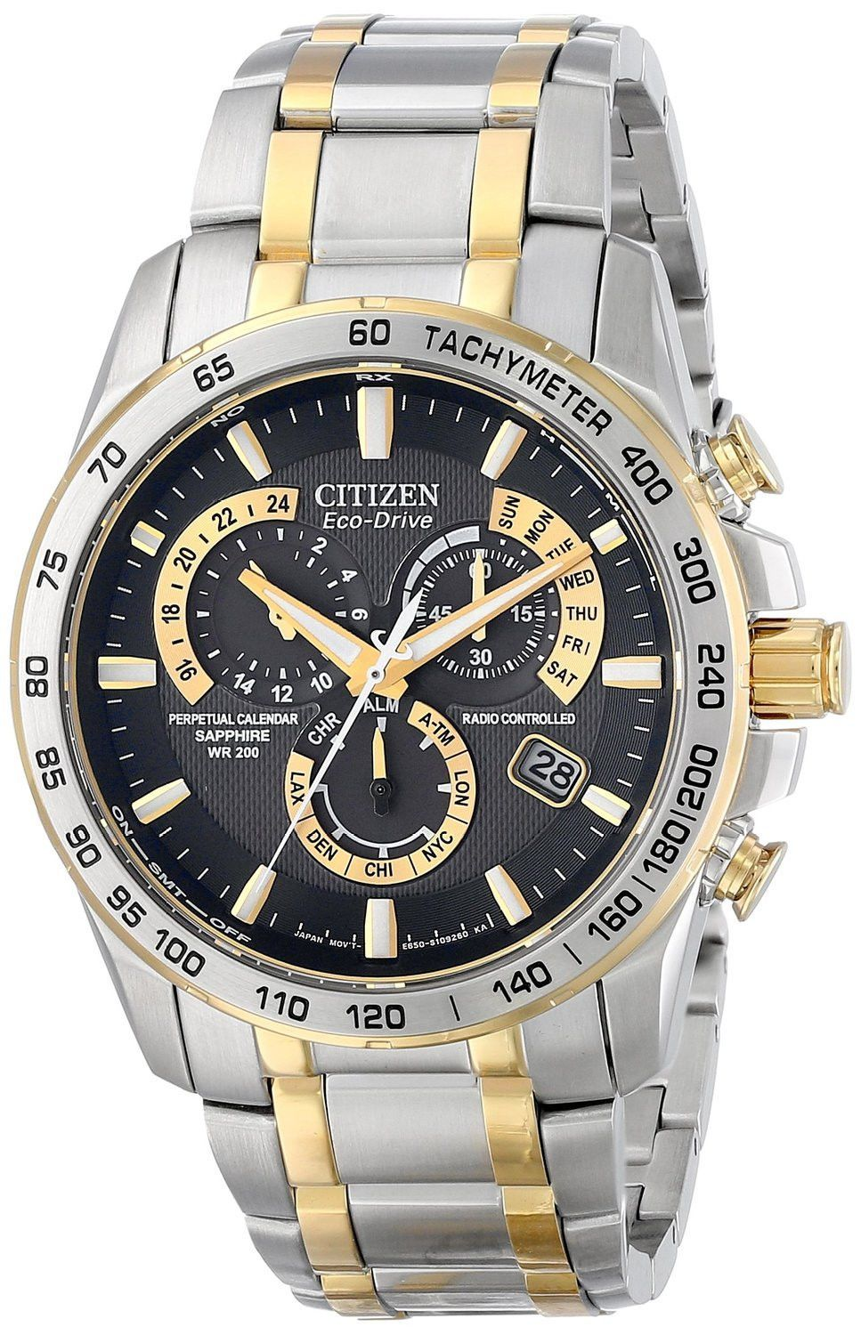citizen eco drive watch watches for men women powered by citizen eco drive men s perpetual chrono a t watch
