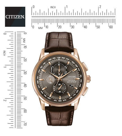 Citizen Eco-Drive Men's World Chronograph A-T Watch
