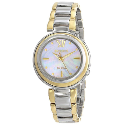 Citizen Eco-Drive Women's Citizen L Sunrise Two-Tone Watch