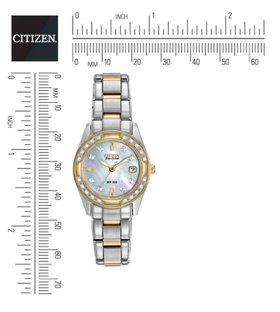 Citizen Eco-Drive Women's Regent Two-Tone Diamond Watch