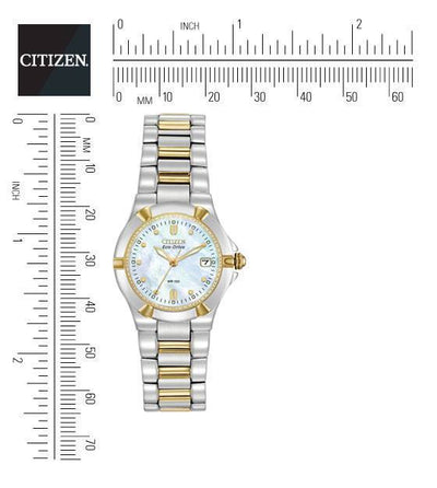 Citizen Eco-Drive Women's Riva Two-Tone Watch