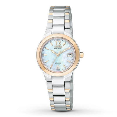 Citizen Eco-Drive Women's Silhouette Rose-Tone Watch