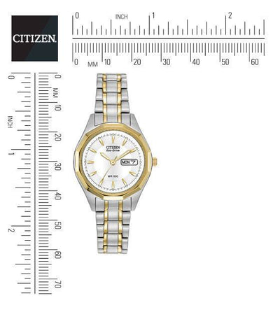 Citizen Eco-Drive Women's Two-Tone Bracelet Watch