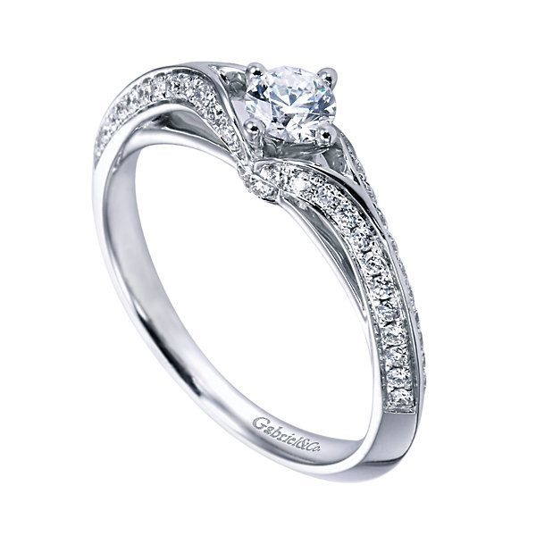 14k 60cttw deco style engagement ring mullen jewelers