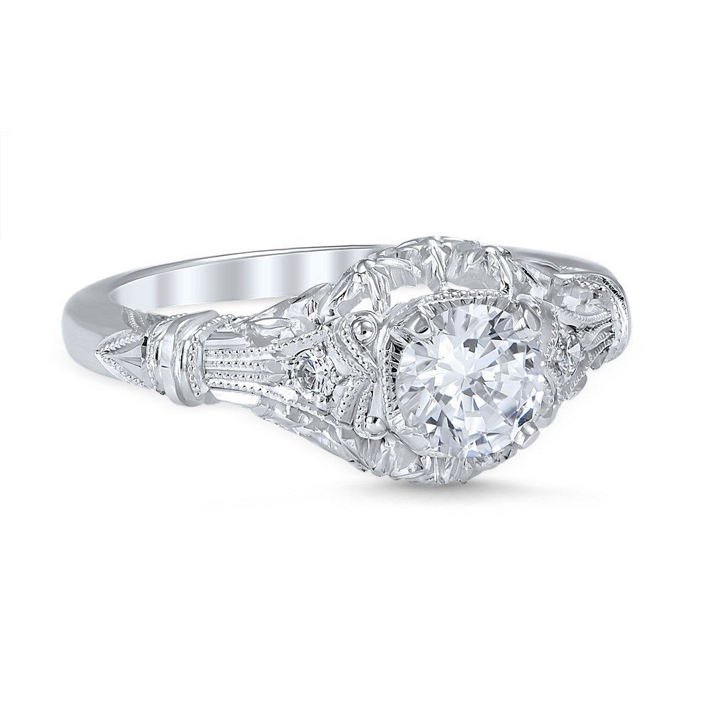 antique engagement style pin graceful edwardian circa diamond sold a stunning jewelry halo cheap estate ring rings by and