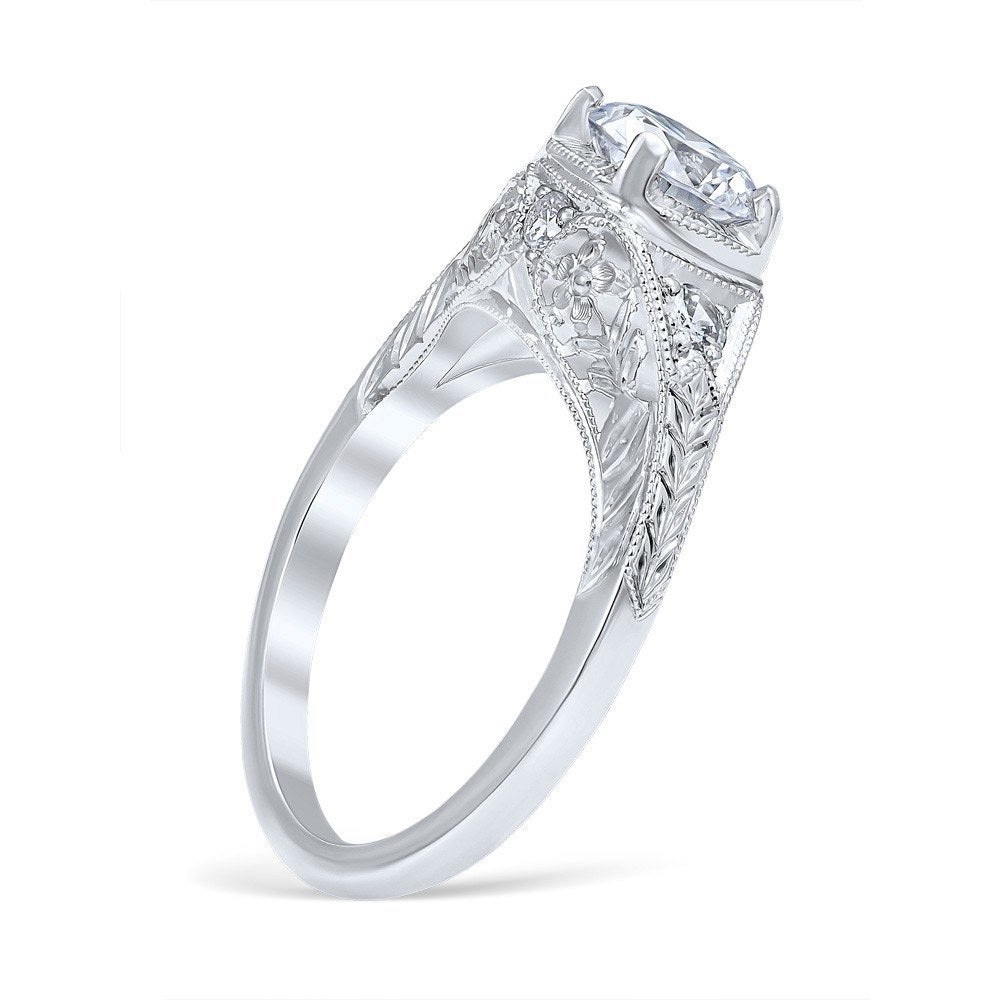 rings category diamond engagement product princess online diamonds natalie cut diamong wedding luxury solitaire