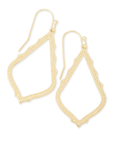 EARRINGS - Kendra Scott Sophia Gold Drop Earrings