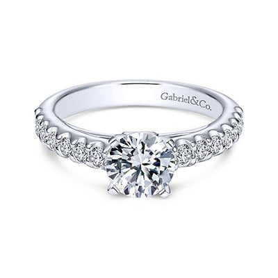 ENGAGEMENT - 1.50cttw Common Prong Round Diamond Engagement Ring
