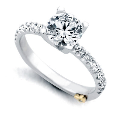 ENGAGEMENT - Mark Schneider Dapper 1.26cttw Prong Set Diamond Engagement Ring