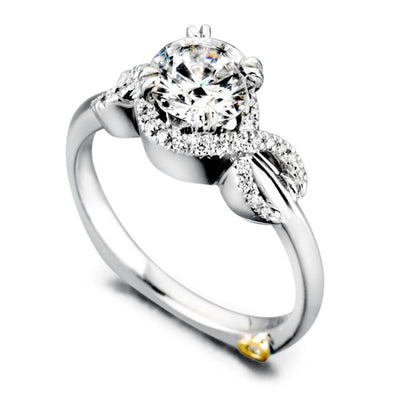 ENGAGEMENT - Mark Schneider Infinity 1.11cttw Prong Set Round Diamond Engagement Ring