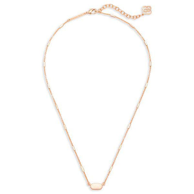 Kendra Scott Fern Rose Gold Plated Necklace