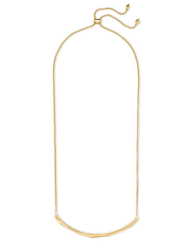 Kendra Scott Graham Yellow Gold and CZ Choker Necklace