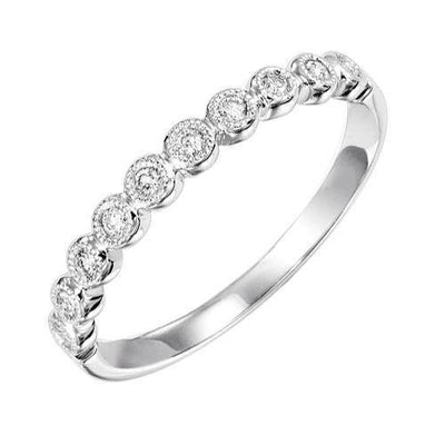 promise ring Yellow gold beaded soliatire diamond ring stackable ring.