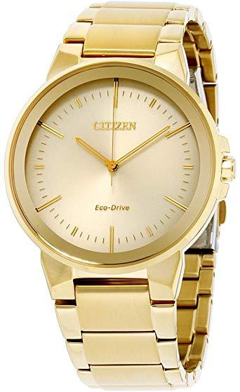 Citizen Eco-Drive Axiom Men's Gold-Tone Watch
