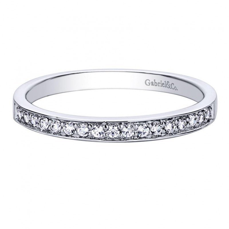 13cttw Bead Set Round Diamond Wedding Band