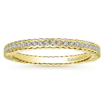 diamond eternity radiant set band bezel bands reuven cut gitter product jewelers