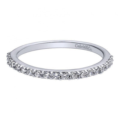 WEDDING - .29cttw Prong Set Diamond Wedding Band