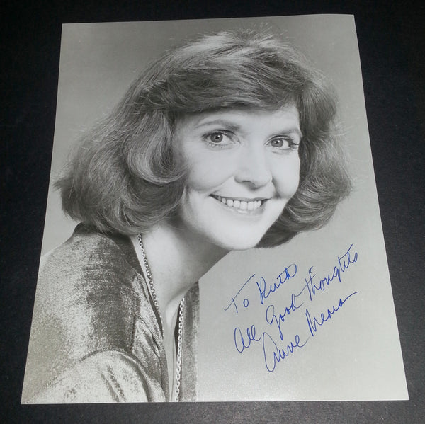 """COMEDY GREAT ANNE MEARA HAND SIGNED 8X10"""" PHOTO"""