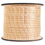 Warm White rope light - 1/2""