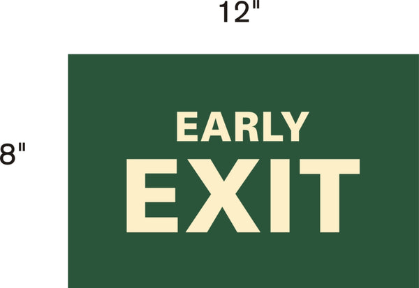 Park Sign - Early Exit