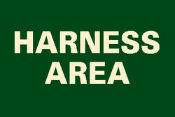 Harness Area Sign